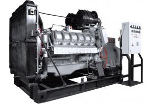 Дизельный генератор АД-300 ЯМЗ-240НМ2, 300 кВт