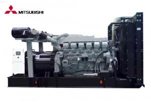 Дизельный генератор 1000 кВт, АД-1000  Mitsubishi S12R-PTA
