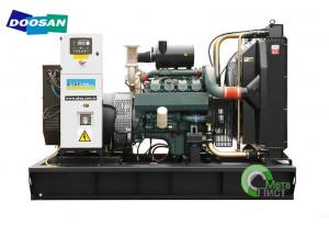 Дизельный генератор АД-340 DOOSAN P158LE, 340 кВт