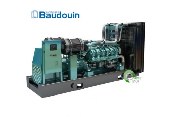 Дизельный генератор АД-1000  BAUDOUIN MOTEURS 12М33, 1000 кВт