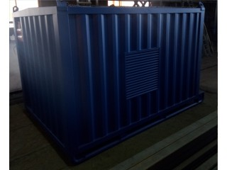 Отгружены ДГУ Cummins C66 в блок контейнере на санях