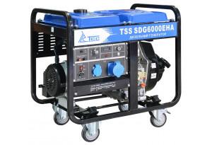 Дизельный генератор ТСС SDG 6000EHA