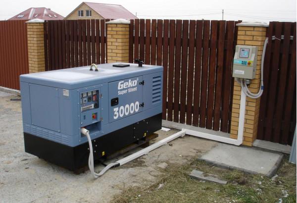 Как подключить дизельный генератор?