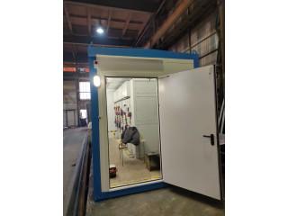 Отгружено модульное здание с  комплектным  распределительным  устройством  (КРУ) 10кВт.
