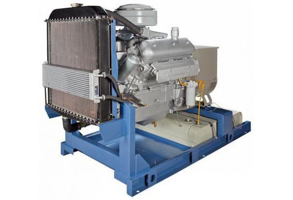 Дизельный генератор АД-75, ЯМЗ 236М2, 75 кВт