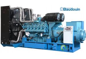 Дизельный генератор АД-1200  BAUDOUIN MOTEURS 16М33, 1200 кВт