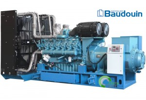 Дизельный генератор АД-1400  BAUDOUIN MOTEURS 16М33, 1400 кВт