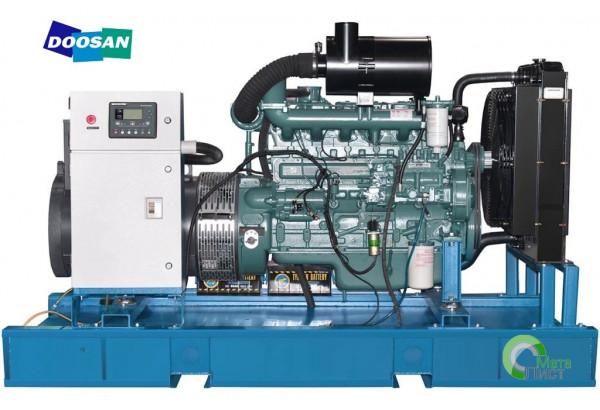 Дизельный генератор АД-120 DOOSAN DP086TA, 120 кВт
