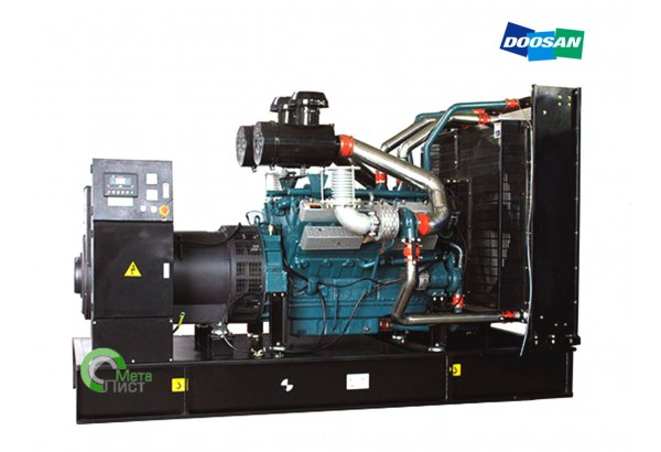 Дизельный генератор АД-300 DOOSAN P158LE-1, 300 кВт