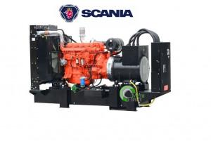 Дизельный генератор Fogo FDF 275 S, 220 кВт, Scania DС09 072A 02-12