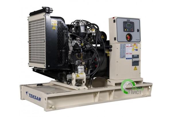 Дизельный генератор Teksan TJ44PE5A, 32 кВт, Perkins 1103A-33TG1