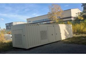 Производство Энергокомплекса контейнерного исполнения на базе газопоршневых электростанций.