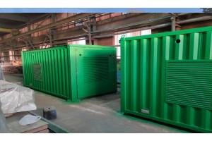 Дизельные электростанции мощностью от 100 до 400кВт для Республики Крым.