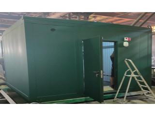 Отгружен блок-контейнер НКУ (низковольтного комплектного устройства) для питания насосных станций.