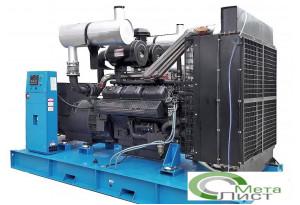 Дизельный генератор 400 кВт, АД-400 RICARDO SY266TAD45, 400 кВт