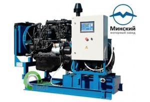 Дизельный генератор АД-75 ММЗ 266.4, 75  кВт