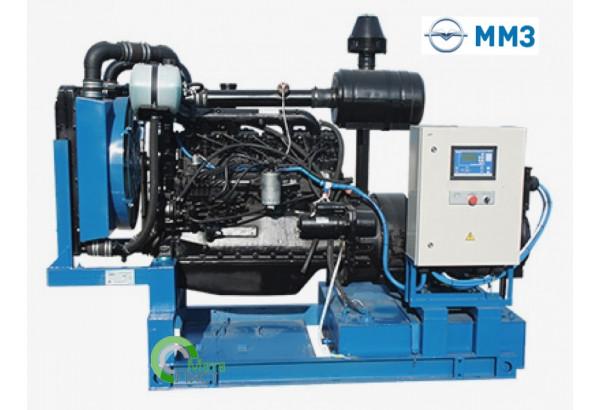 Дизельный генератор АД-100 ММЗ 266.4, 100  кВт