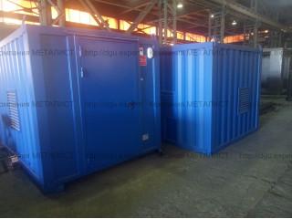 Отгружены Заказчику ДЭС контейнерного исполнения  ГЕЛИОС D28 - 20кВт,  ГЕЛИОС D44 - 32кВт, ГЕЛИОС D88 - 64кВ  по 2 степени автоматизации.