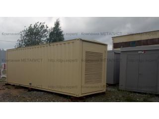 Отгружена Заказчику ДЭС контейнерного исполнения мощностью  500кВт. по 2 степени автоматизации.