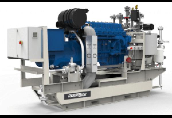 Газопоршневая электростанция POWERLINK GE100NG