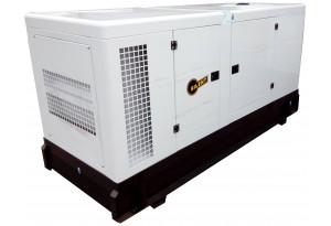 Дизельный генератор АМПЕРОС АД 250-Т400 в кожухе с АВР
