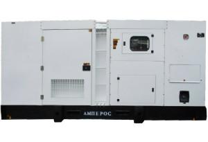 Дизельный генератор АМПЕРОС АД 500-Т400 в кожухе с АВР