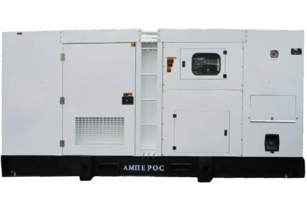 Дизельный генератор АМПЕРОС АД 500-Т400 в кожухе