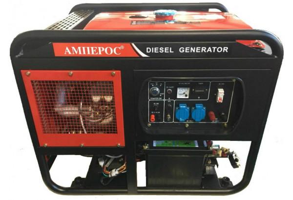 Дизельный генератор АМПЕРОС LDG 15000 E-3