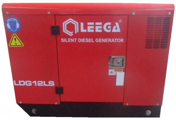 Дизельный генератор АМПЕРОС LDG12 LS 3 фазы в кожухе