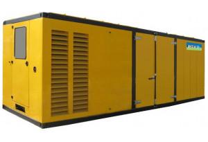 Дизельный генератор Aksa AC-1100K в кожухе с АВР