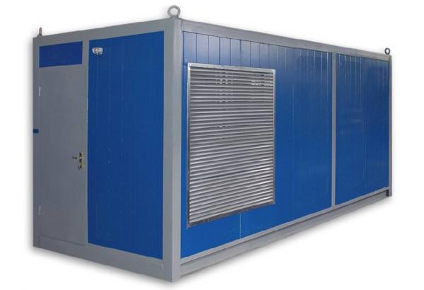 Дизельный генератор Aksa AC-550 в контейнере с АВР