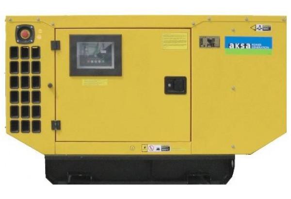 Дизельный генератор Aksa AJD 275 в кожухе