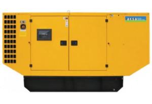 Дизельный генератор Aksa AP 165 в кожухе с АВР