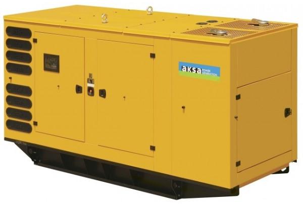 Дизельный генератор Aksa AP 275 в кожухе с АВР