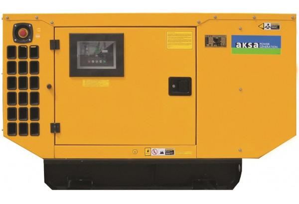 Дизельный генератор Aksa AP 33 в кожухе