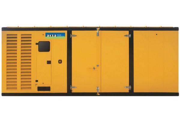 Дизельный генератор Aksa AP 825 в кожухе с АВР