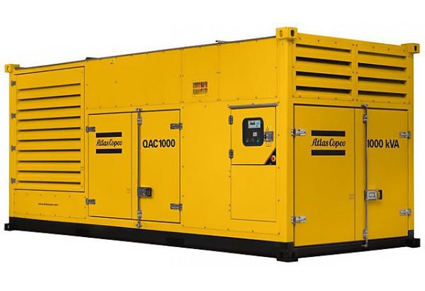 Дизельный генератор Atlas Copco QAC 1000