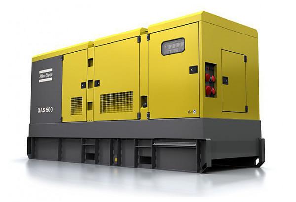 Дизельный генератор Atlas Copco QAS 500