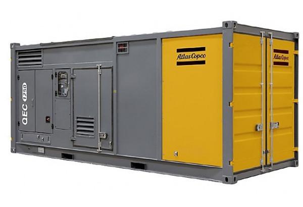 Дизельный генератор Atlas Copco QEC 1250 с АВР