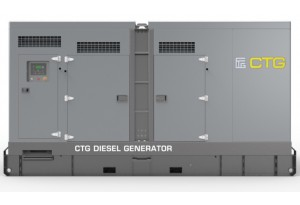 Дизельный генератор CTG 138C в кожухе с АВР