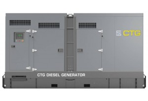 Дизельный генератор CTG 165D в кожухе с АВР