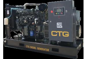Дизельный генератор CTG AD-345RE с АВР