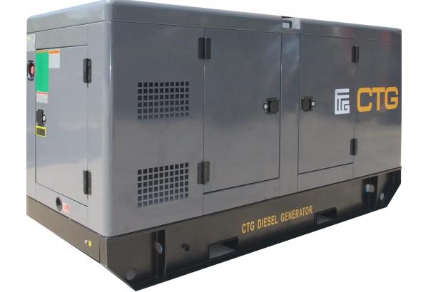 Дизельный генератор CTG AD-345RES