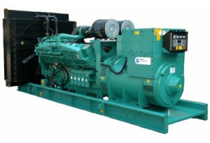 Дизельный генератор Cummins C1400D5 с АВР