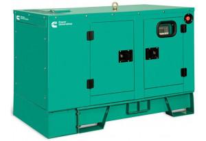 Дизельный генератор Cummins C8D5 в кожухе с АВР