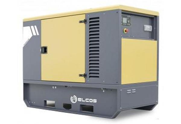 Дизельный генератор Elcos GE.CU.030/027.SS с АВР