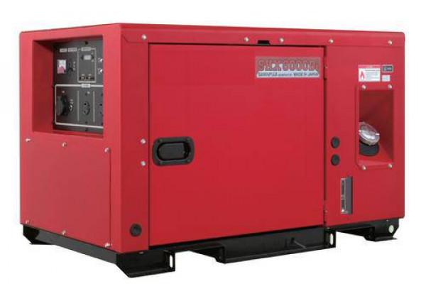 Дизельный генератор Elemax SHX8000Di