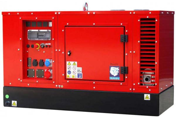 Дизельный генератор EuroPower EPS 243 TDE с подогревом