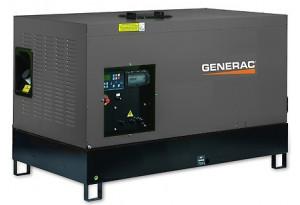 Дизельный генератор Generac PME22B в кожухе с АВР