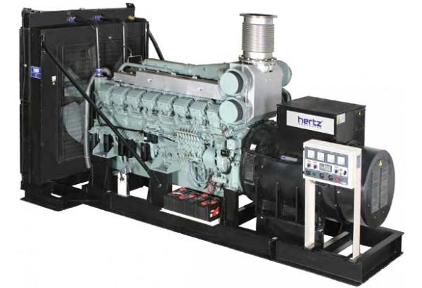 Дизельный генератор Hertz HG 21 MC
